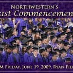 Northwestern University Commencement 2009