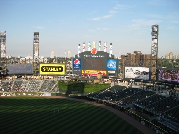 sox3 - White Sox Game At U.S. Cellular Field
