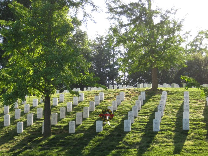 arlington national cemetery - Now living near Washington D.C. in Arlington, Virginia