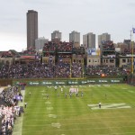 Illinois vs. Northwestern at Wrigley Field 2010