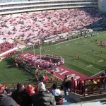 Northwestern vs. Wisconsin at Camp Randall 2010