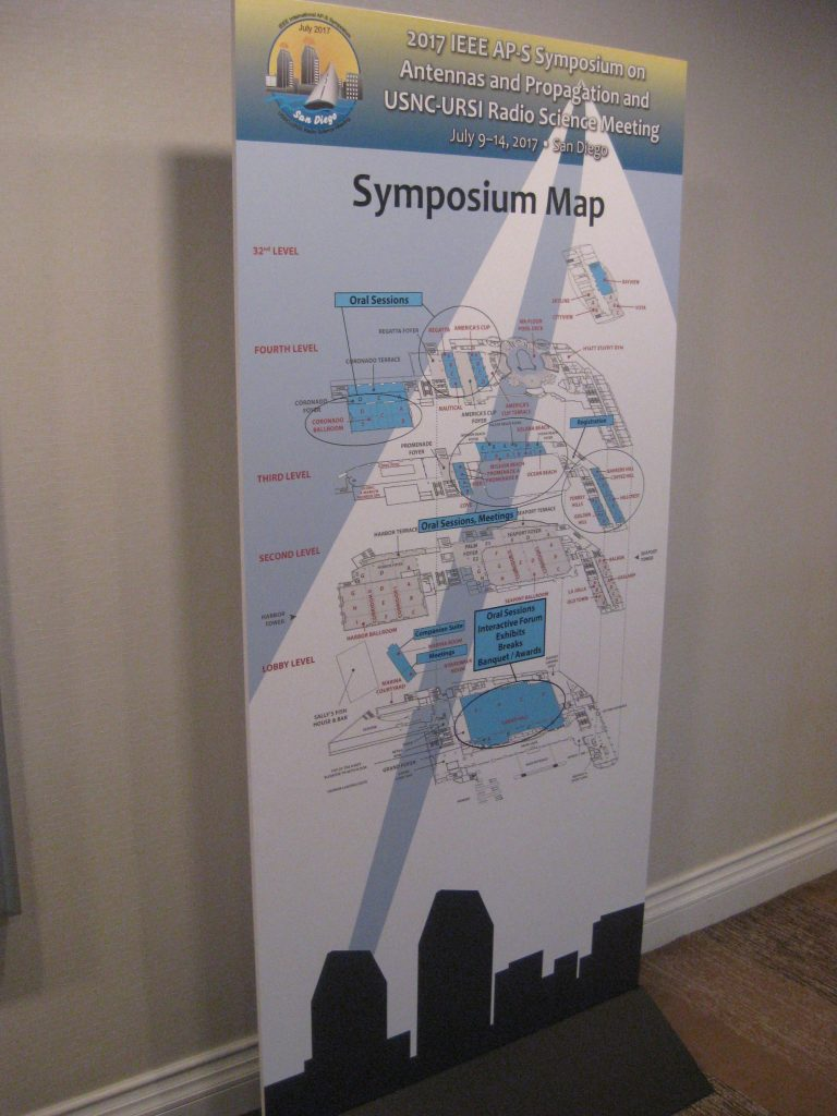 IEEE APS San Diego Symposium Map