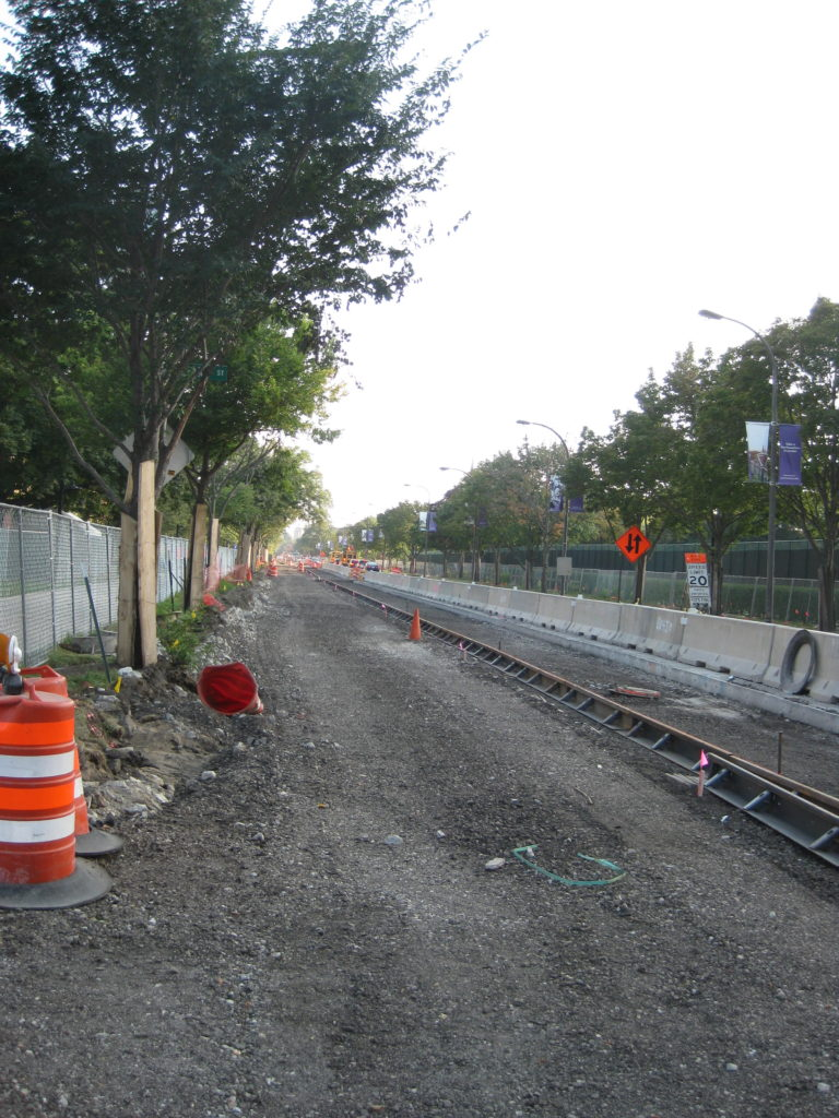 Northwestern Sheridan Road Construction