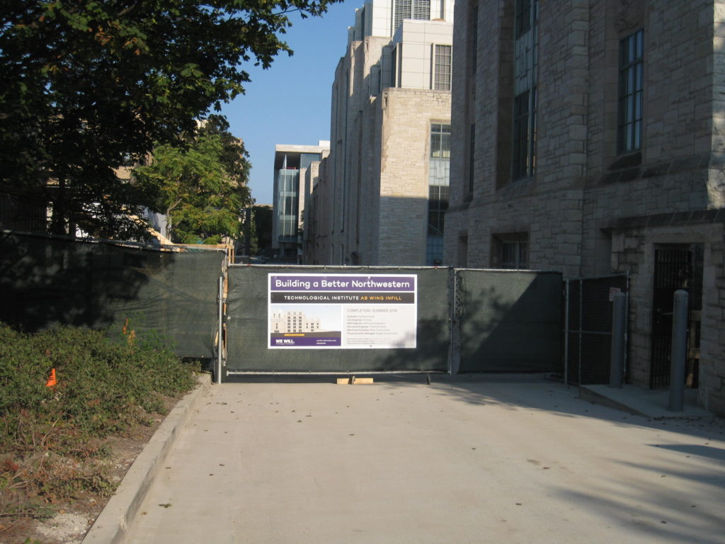 Northwestern Technological Institute AB Wing Infill