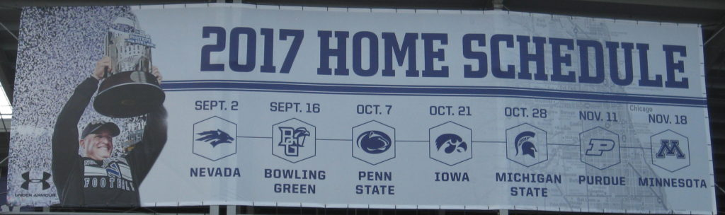 Northwestern Football Home Schedule 2017