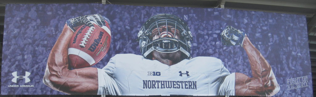 Northwestern Football Fight Victory