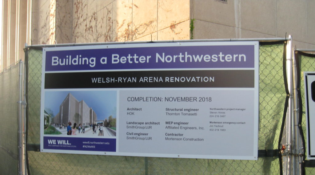 Northwestern Welsh Ryan Arena Renovation