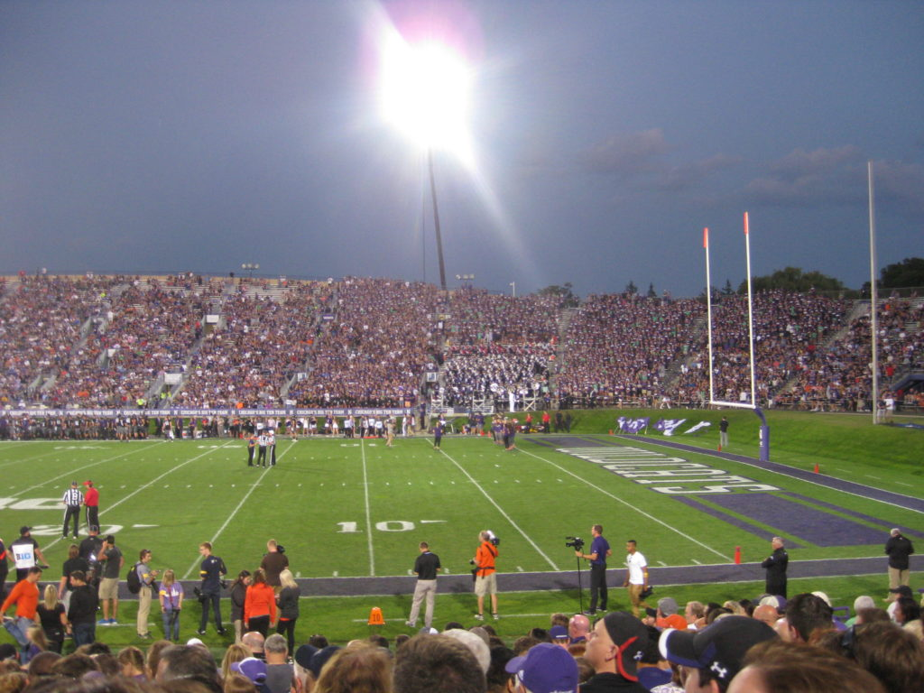 Northwestern Football Student Section