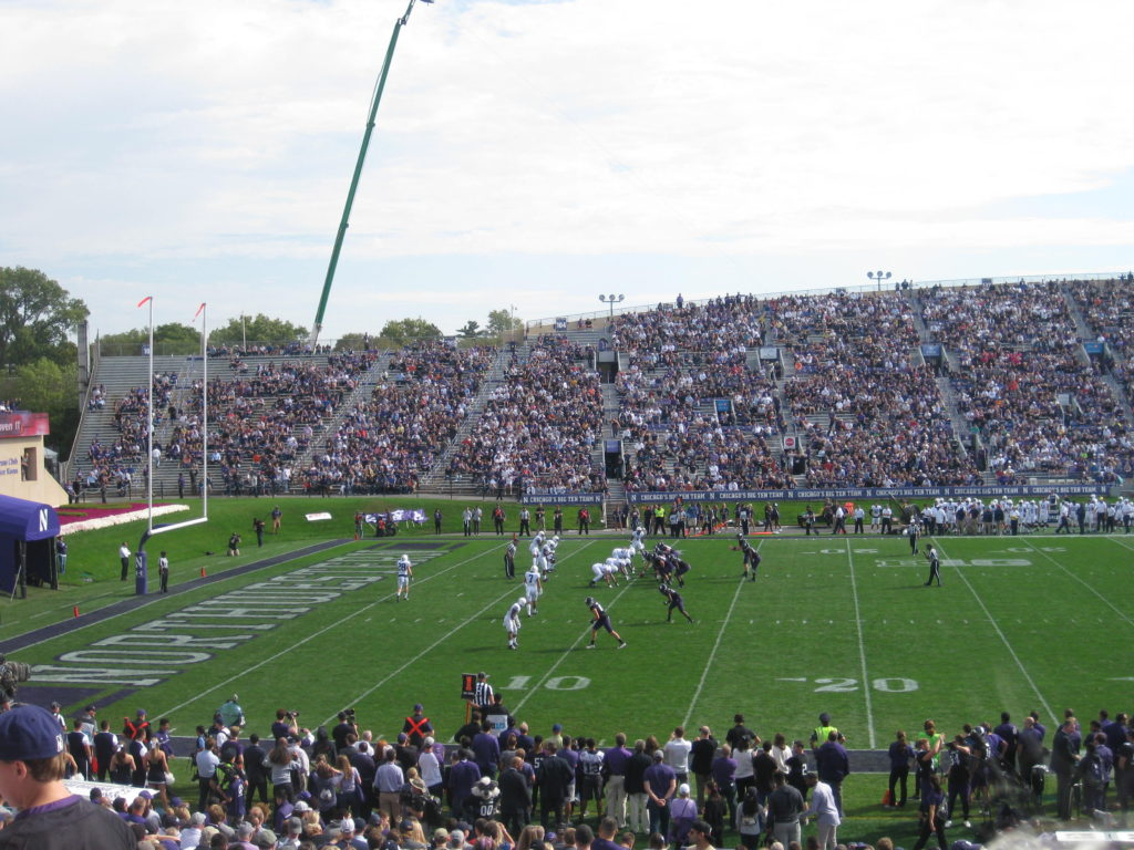 Northwestern Football Ryan Field Penn State
