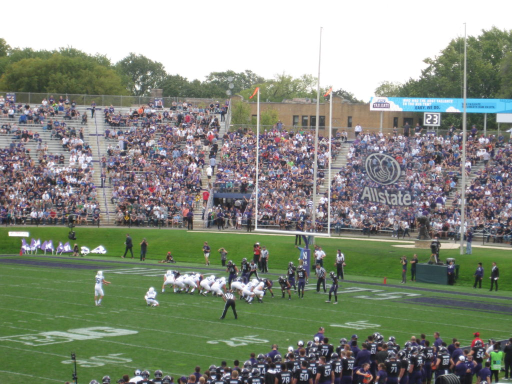 IMG 2624 1024x768 - Penn State vs Northwestern Football at Ryan Field 2017