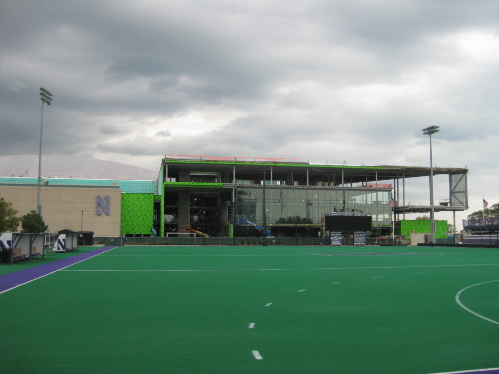 Northwestern Ryan Fieldhouse Construction