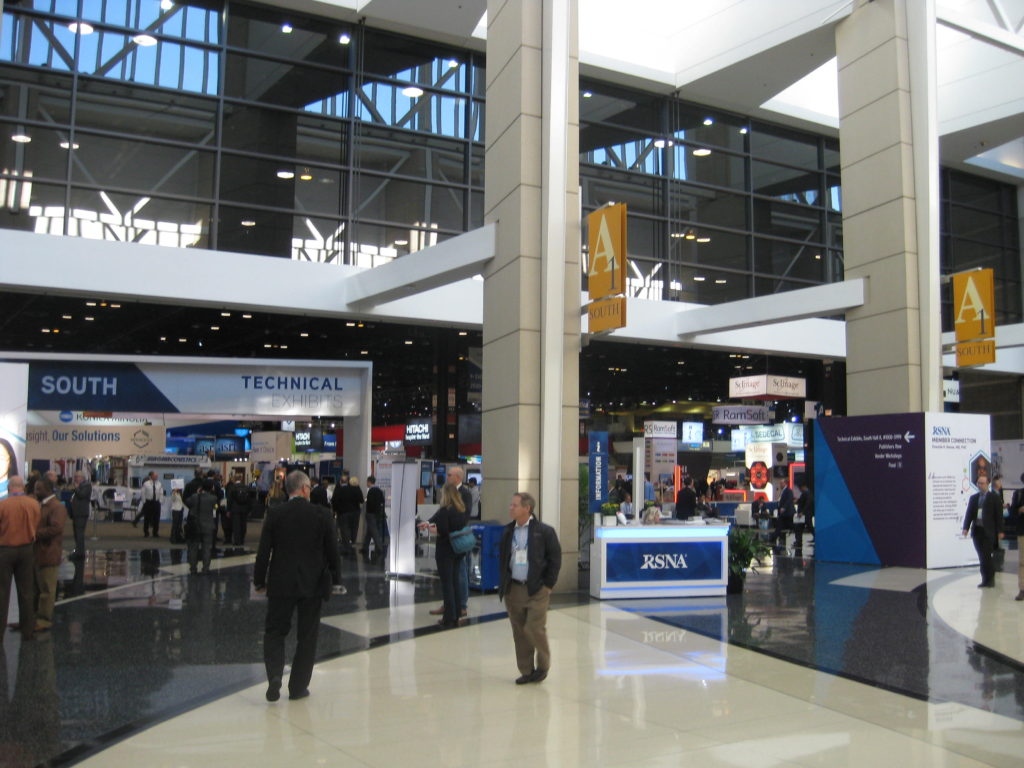 IMG 2669 1024x768 - Radiological Society of North America (RSNA) Meeting in Chicago, IL, in 2017, at McCormick Place