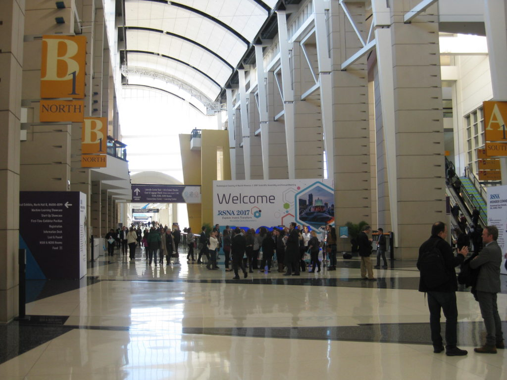 IMG 2670 1024x768 - Radiological Society of North America (RSNA) Meeting in Chicago, IL, in 2017, at McCormick Place