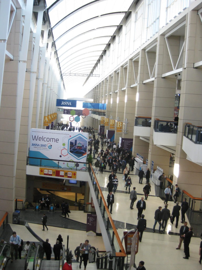 IMG 2724 e1512016523957 768x1024 - Radiological Society of North America (RSNA) Meeting in Chicago, IL, in 2017, at McCormick Place