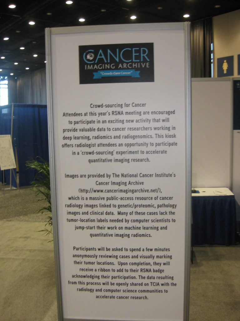 RSNA National Cancer Institute Cancer Imaging Archive