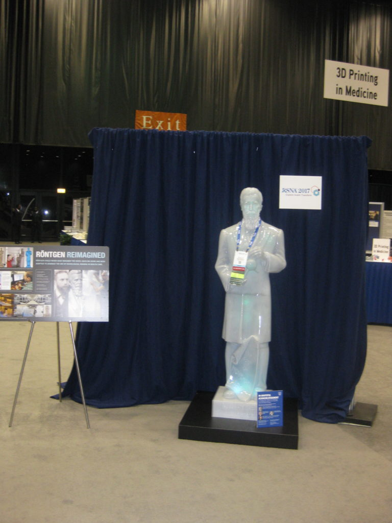 IMG 2812 e1512101525132 768x1024 - Radiological Society of North America (RSNA) Meeting in Chicago, IL, in 2017, at McCormick Place