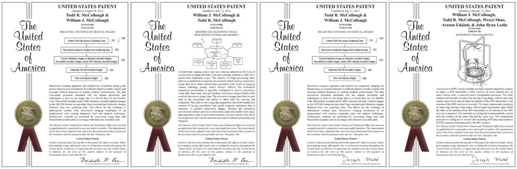 Todd McCollough Four Patents