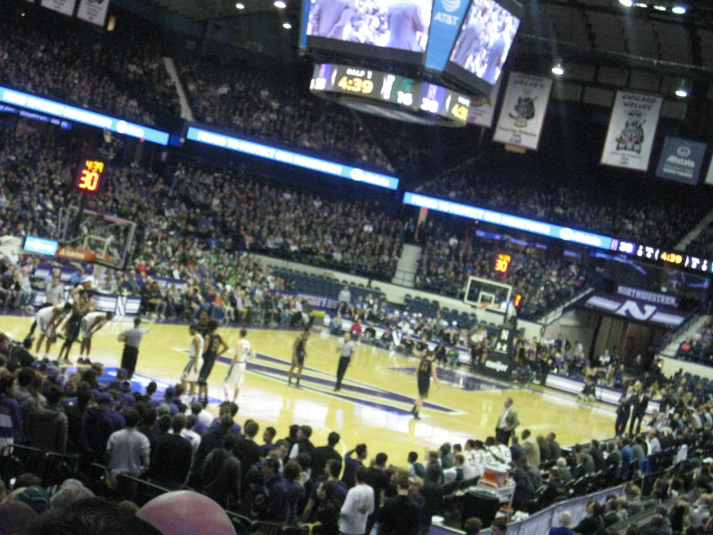 Allstate Arena college basketball