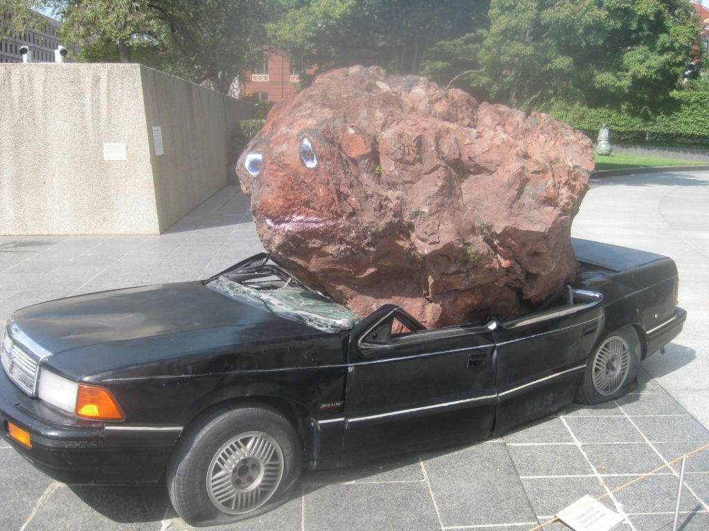 Hirshhorn Museum and Sculpture Garden Rock Car