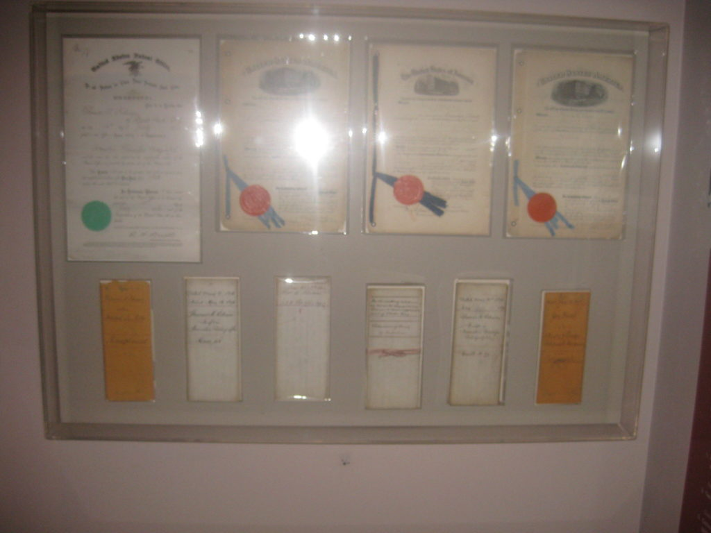 National Museum of American History Patents