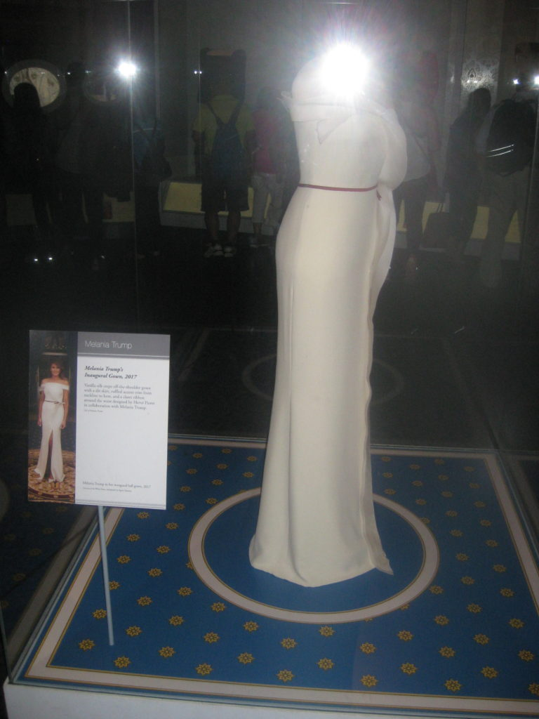 National Museum of American History Melania Trump Dress