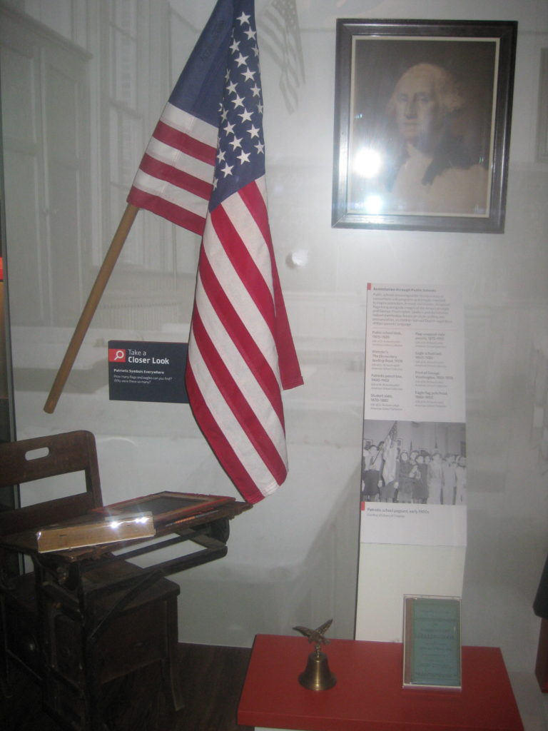 National Museum of American History Washington Flag