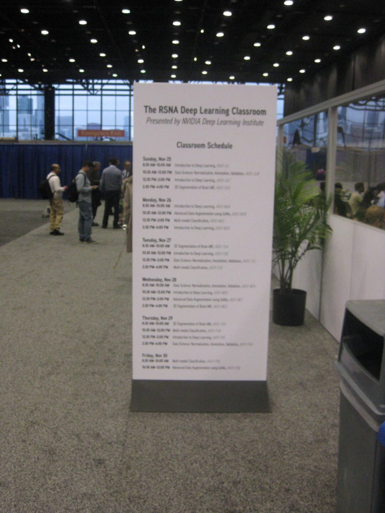 IMG 3239 e1543198135572 768x1024 - Radiological Society of North America (RSNA) Meeting in Chicago, IL, in 2018, at McCormick Place