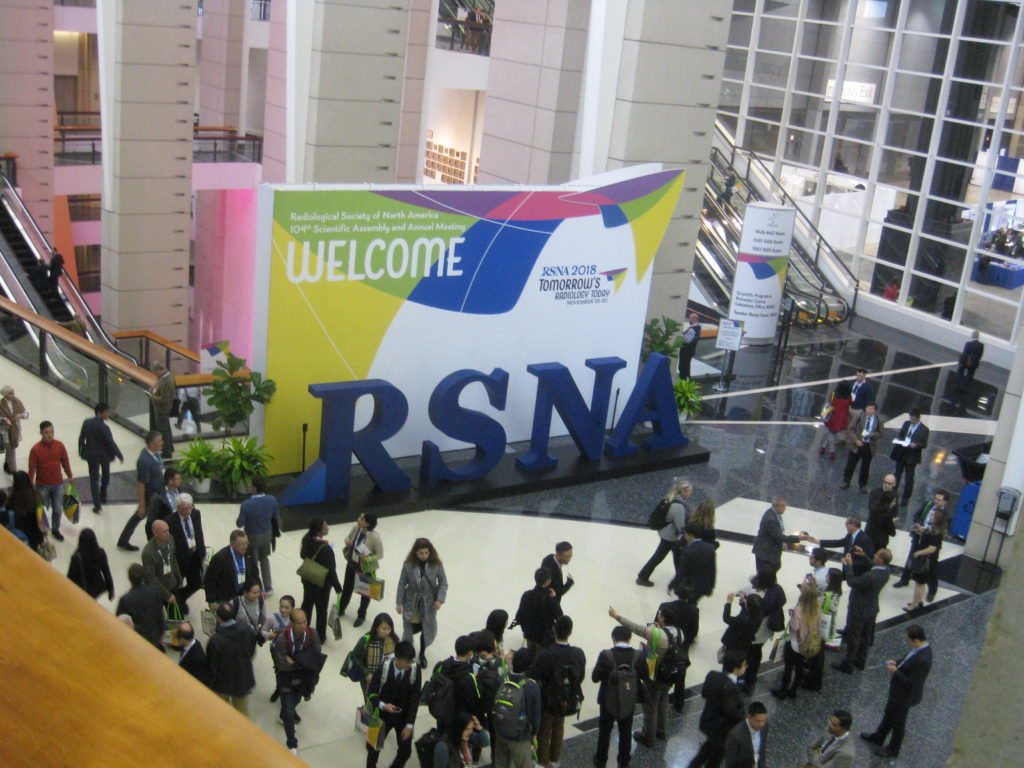 IMG 3251 1024x768 - Radiological Society of North America (RSNA) Meeting in Chicago, IL, in 2018, at McCormick Place