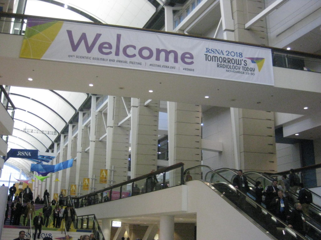 IMG 3306 1024x768 - Radiological Society of North America (RSNA) Meeting in Chicago, IL, in 2018, at McCormick Place