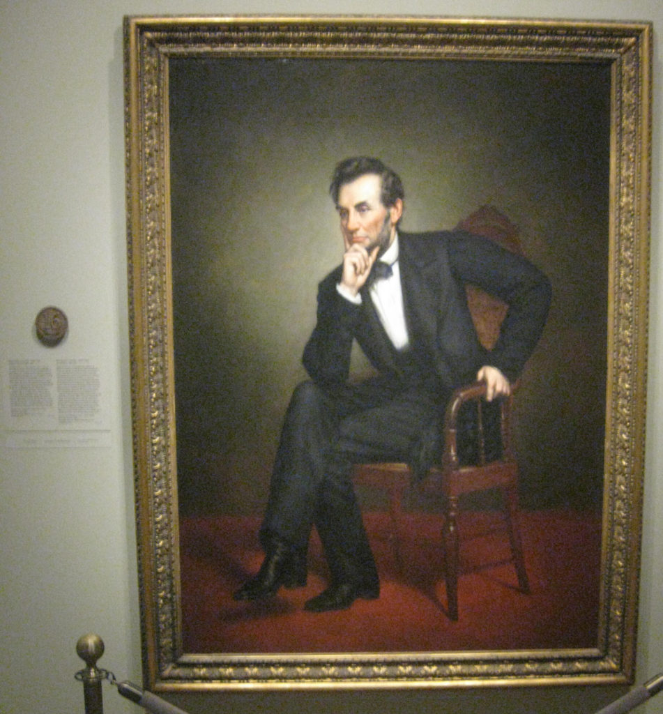 abraham lincoln president portrait 16 951x1024 - Washington D.C. and Cherry Blossoms 2019