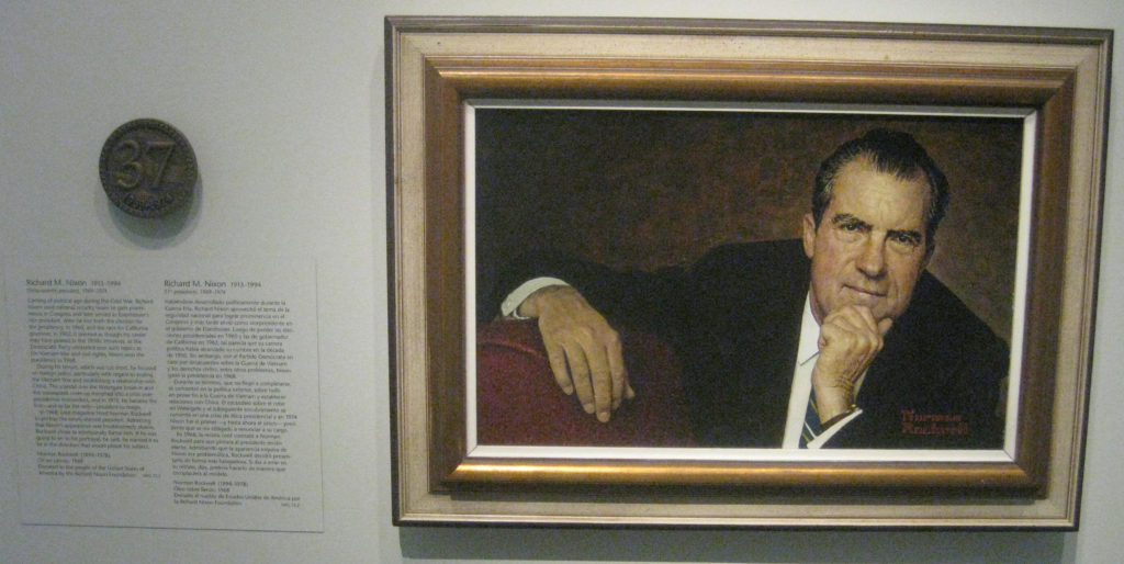 richard nixon president portrait 37 1024x514 - Washington D.C. and Cherry Blossoms 2019