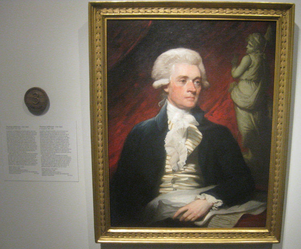 thomas jefferson president portrait 3 1024x848 - Washington D.C. and Cherry Blossoms 2019