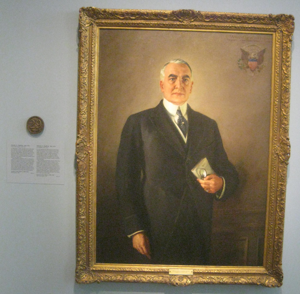 warren harding president portrait 29 1024x1002 - Washington D.C. and Cherry Blossoms 2019