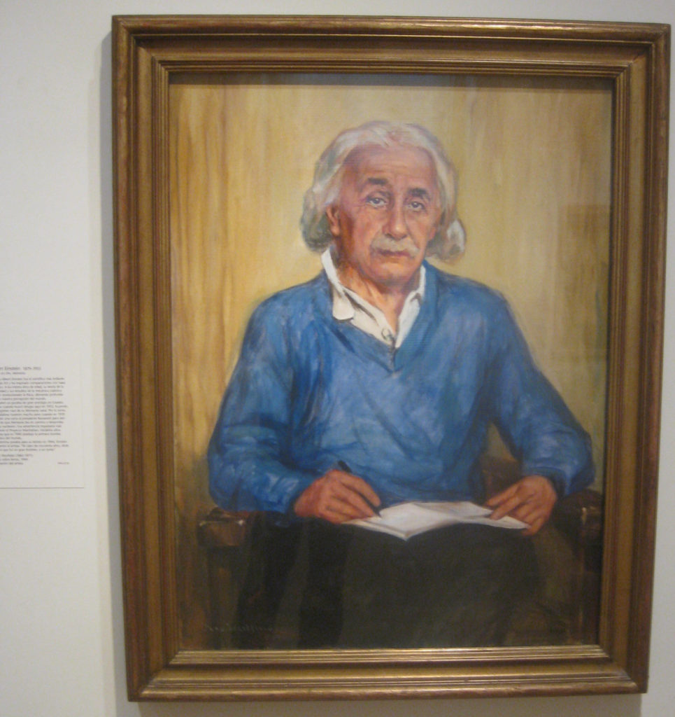 albert einstein portrait gallery 965x1024 - Washington D.C., Cherry Blossoms, and National Museum of African Art April 2019