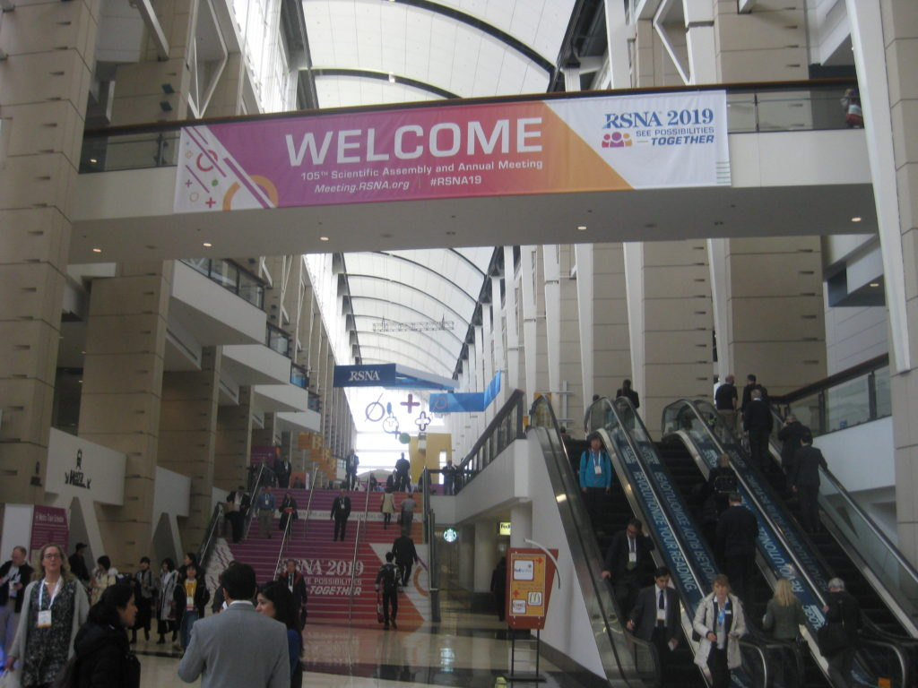 IMG 4403 1024x768 - Radiological Society of North America (RSNA) Meeting in Chicago, IL, in 2019, at McCormick Place
