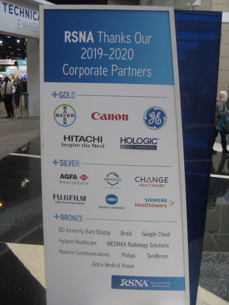 IMG 4406 768x1024 - Radiological Society of North America (RSNA) Meeting in Chicago, IL, in 2019, at McCormick Place