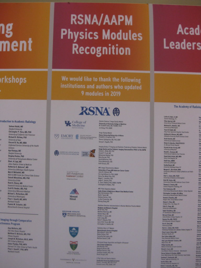 IMG 4433 768x1024 - Radiological Society of North America (RSNA) Meeting in Chicago, IL, in 2019, at McCormick Place