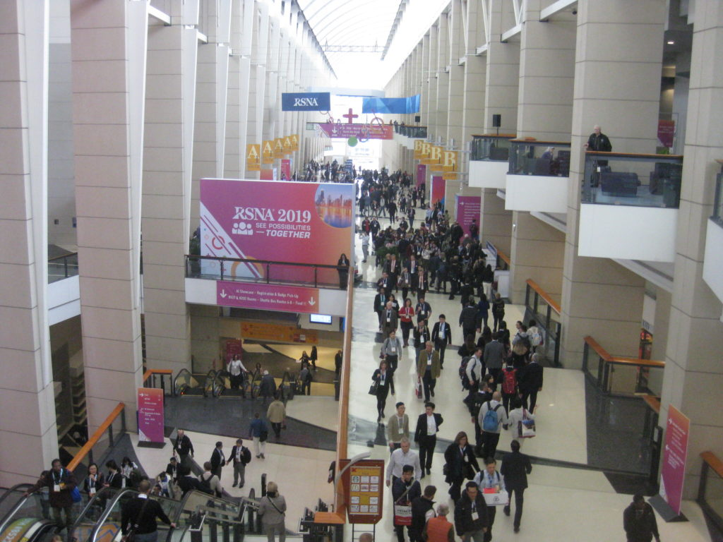 IMG 4434 1024x768 - Radiological Society of North America (RSNA) Meeting in Chicago, IL, in 2019, at McCormick Place