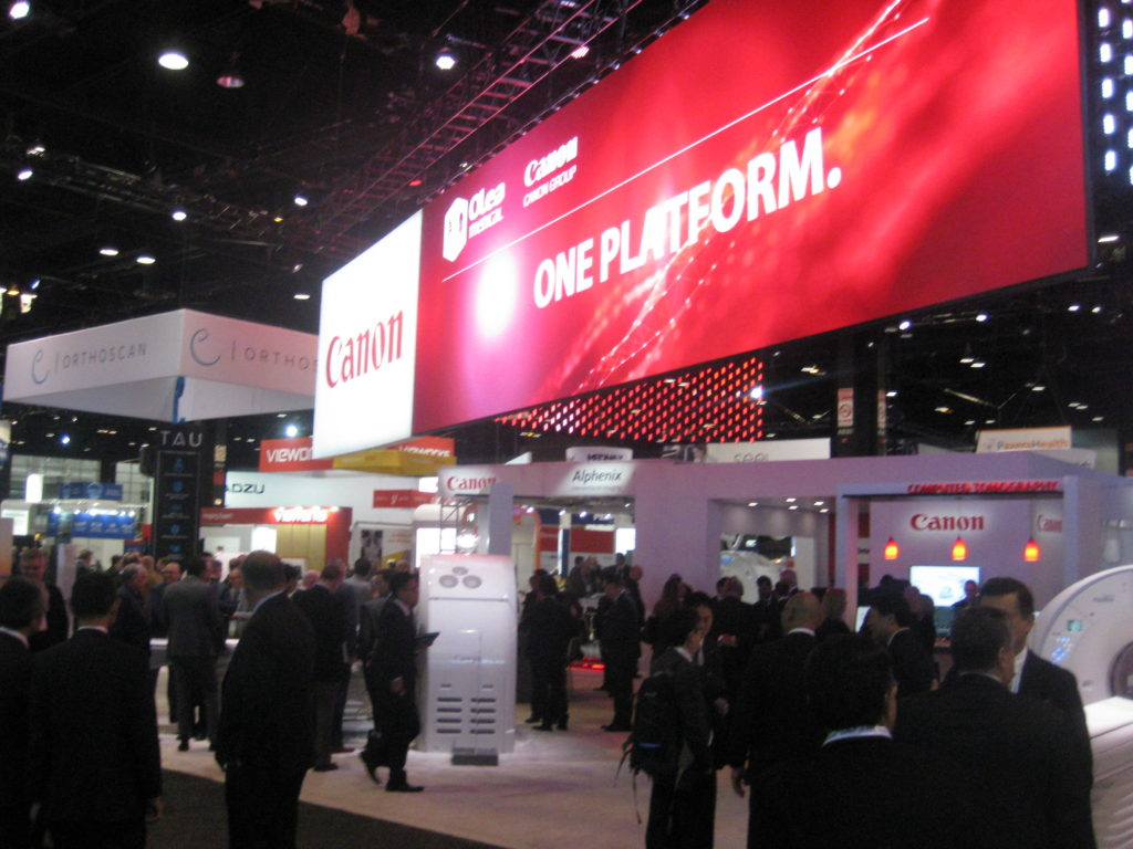 RSNA 2019 Canon Exhibit
