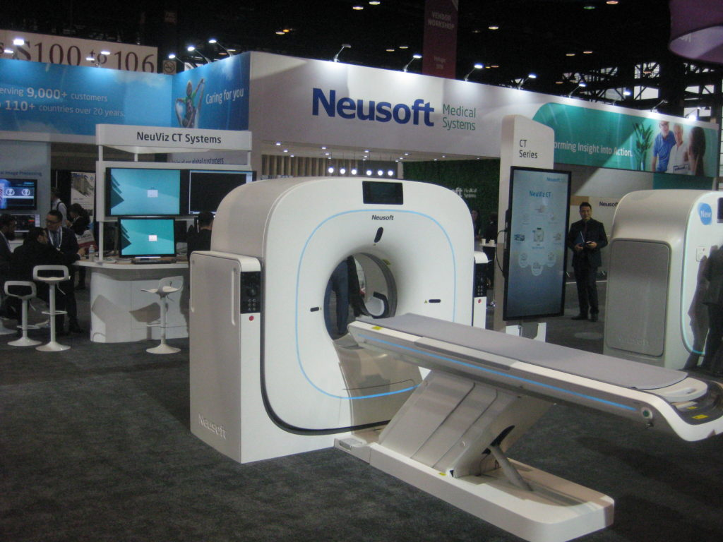 IMG 4457 1024x768 - Radiological Society of North America (RSNA) Meeting in Chicago, IL, in 2019, at McCormick Place