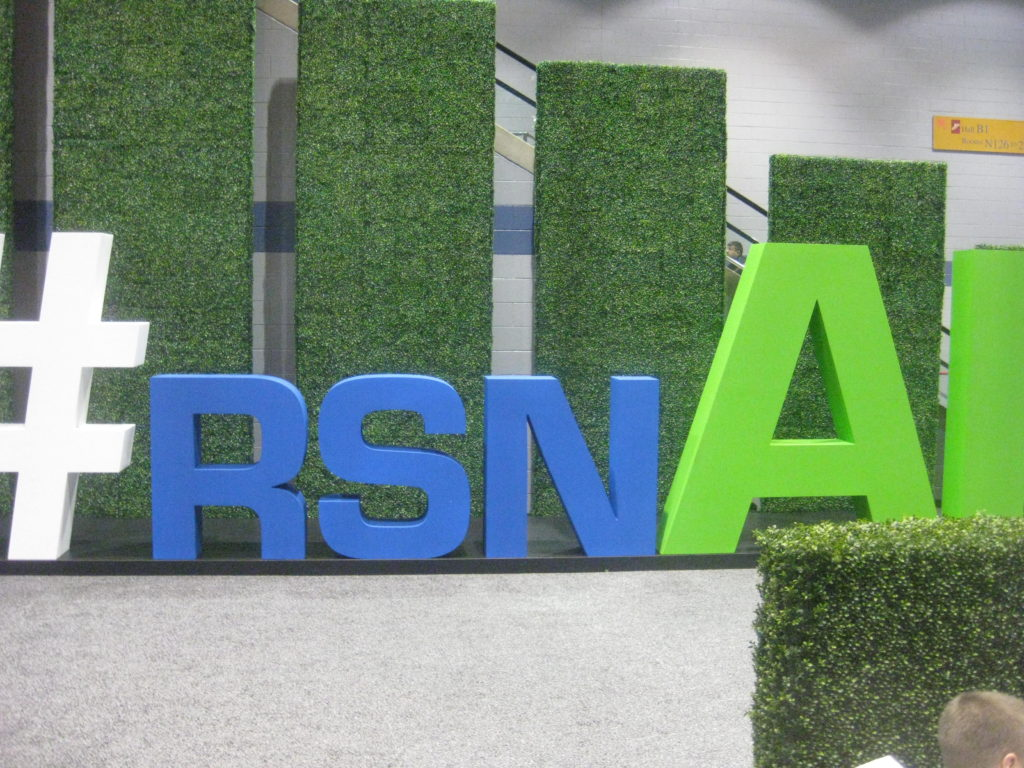 RSNA AI Artificial Intelligence 2019