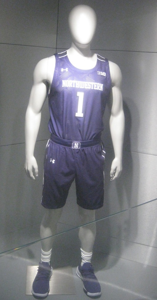 northwestern basketball jersey welsh ryan arena 535x1024 - Nebraska vs Northwestern Basketball at Welsh-Ryan Arena 2020